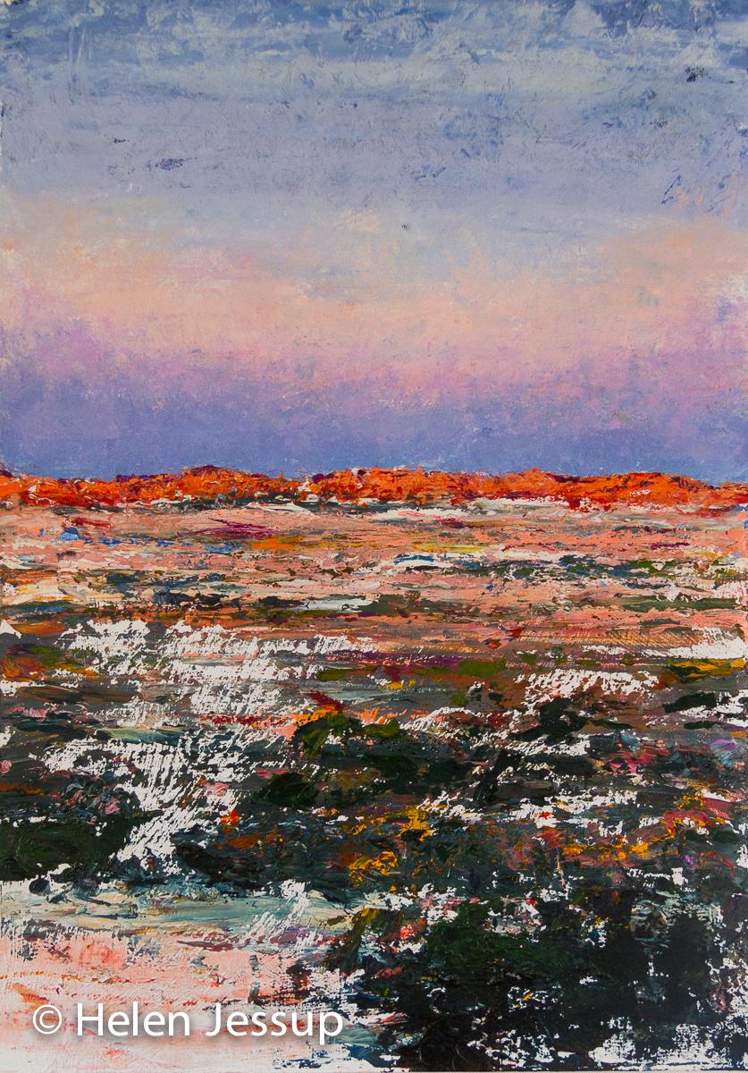 Lake Mungo - Evening Light