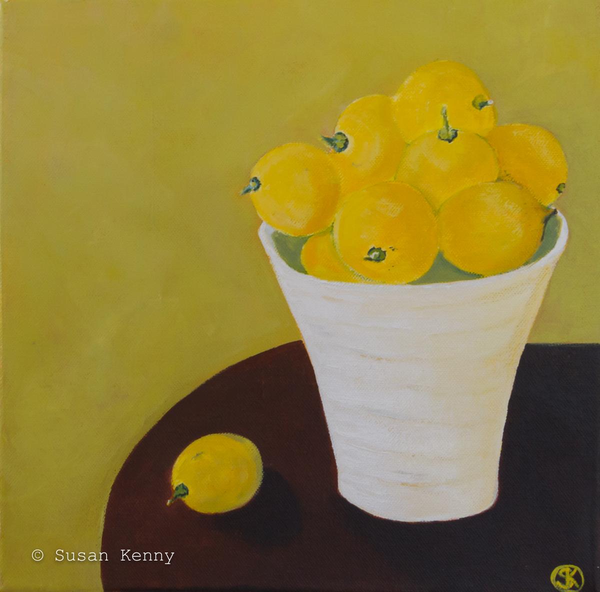 Lemons #2 Susan Kenny