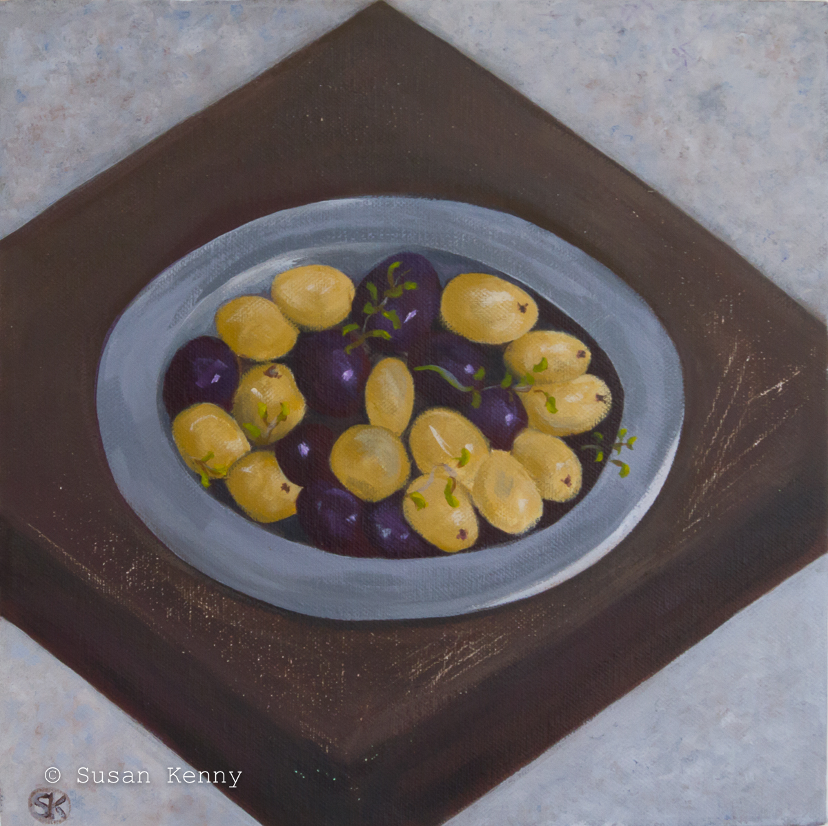 Olives by Susan Kenny