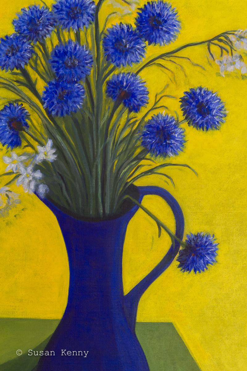 Cornflowers by Susan Kenny