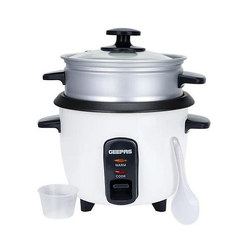 1.0L Rice Cooker with Steamer