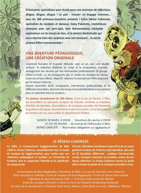 Flyer Dans la foret Bestiale pagaille2.j