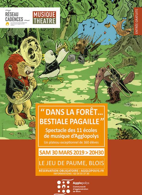 Affiche_Dans_la_forêt_Bestiale_pagaille.