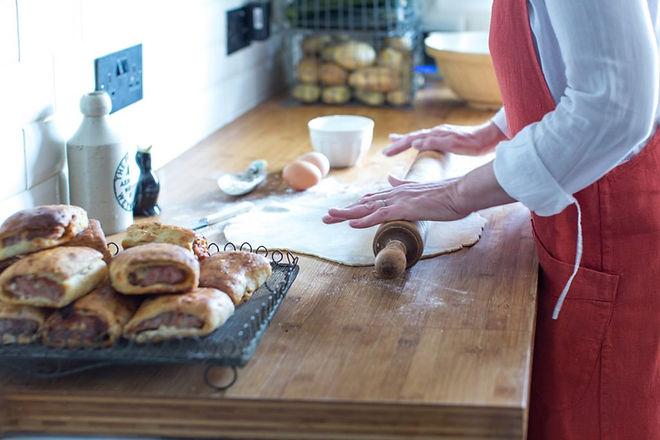 Lizzie Baking Bird Dorset Farmers Market