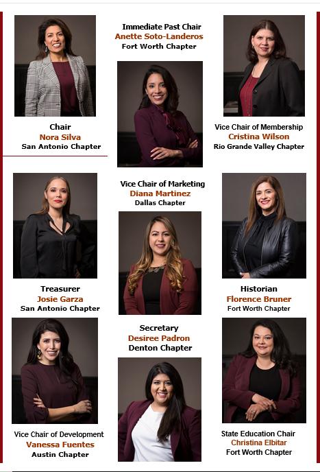2019 HWNT State Board Members