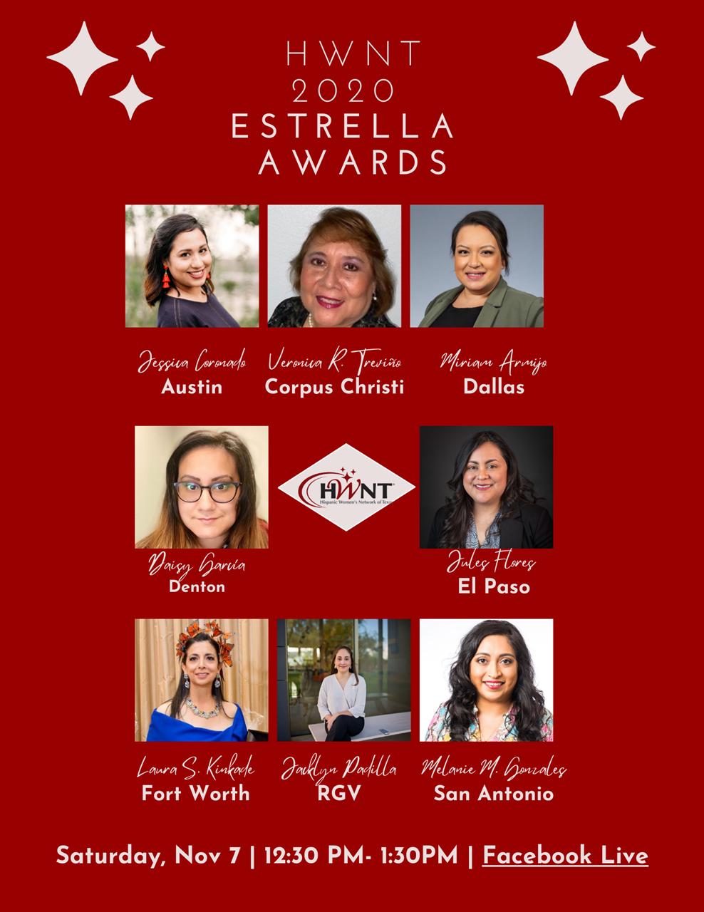 Poster of HWNT 2020 Estrella Award