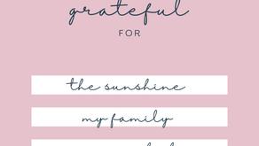 November is National Gratitude Month!
