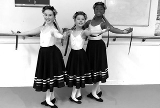 Classical Ballet Training is available from our qualified Royal Academy of Dance Teachers.