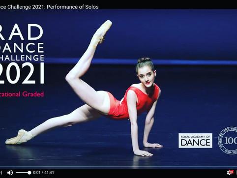 2021 RAD Dance Challenge Success