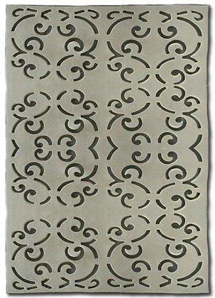 Royal Gates Felt Die Cut Ivory