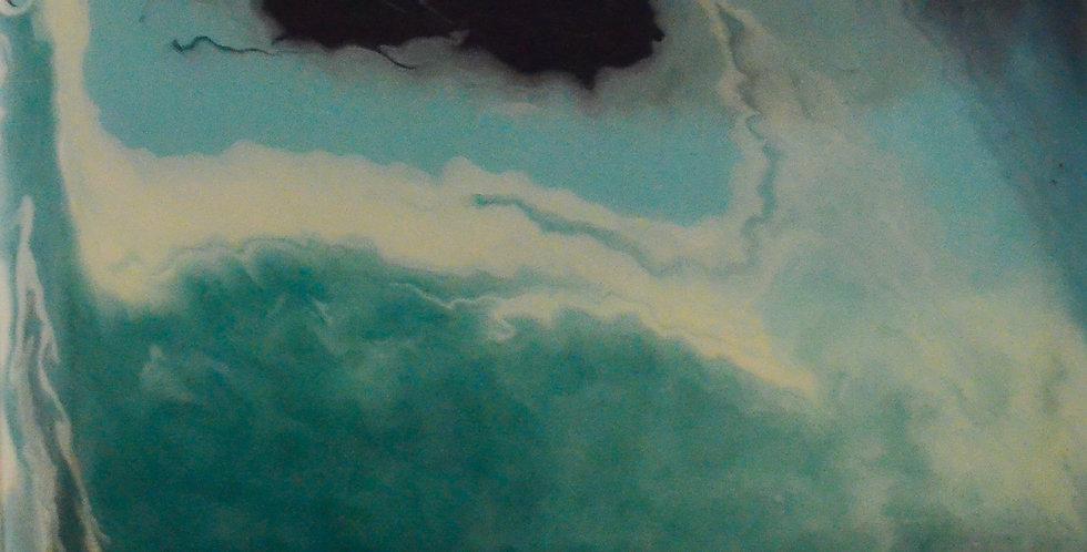 Ocean Waves -Two Panel Set