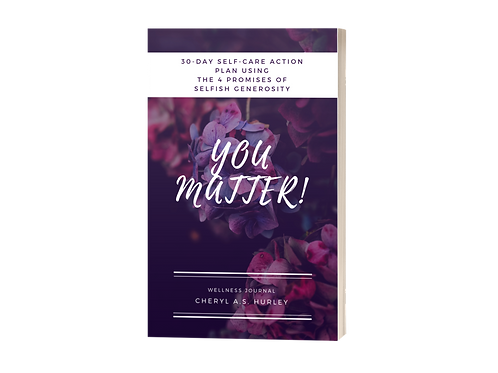 YOU Matter! 30-Day Action Plan Journal