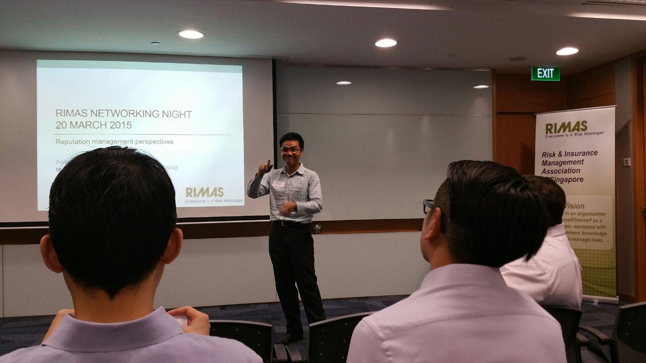 Talk by Chairman, IT Committee RIMAS