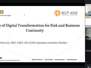 Future of Digital Transformation for Risk and Business Continuity