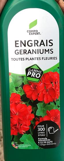 Engrais liquide Géranium 1l
