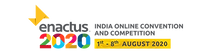 Enactus India Online Convention and Competition 2020 Official Logo of Enactus India Convention Header