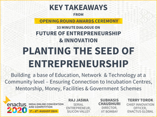 Enactus India Convention 2020 Future of Entrepreneurship and Innovation Key Takeaways