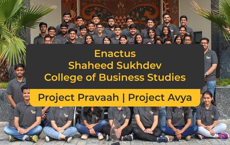 Runner up Semi Finalist- Shaheed Sukhdev College of Business Studies