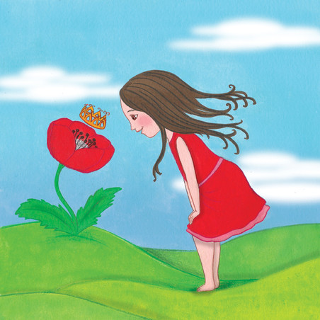 עולם הפרחים. שלווה קניג. הוצאת הדובדבן.