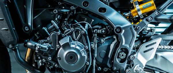 Splitter ny CP3 motor på 890cc med hele 119PS