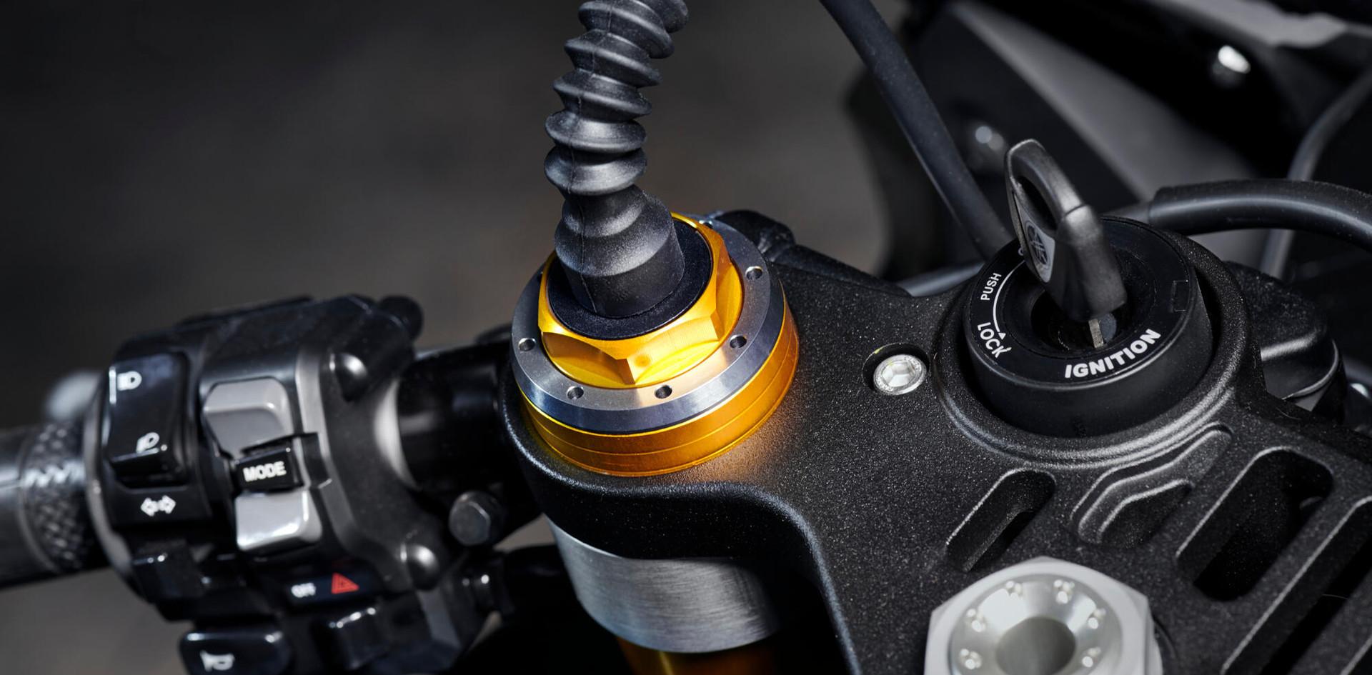 Öhlins elektronisk racingdemper (ERS)