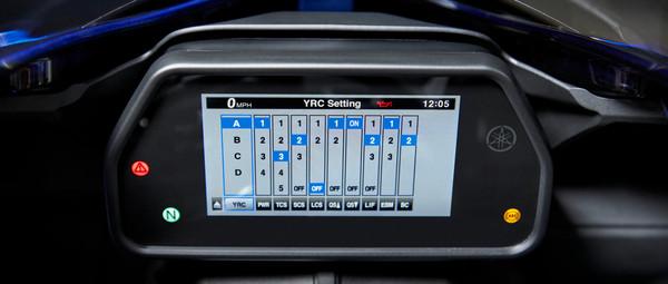 Høyteknologiske elektroniske kontrollfunksjoner