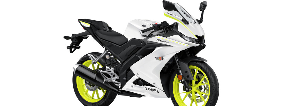 YZF-R125 Competition White