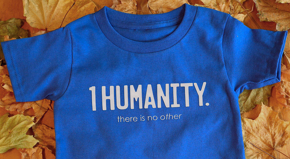 Royal Blue Toddler T-Shirt - We Are One Humanity