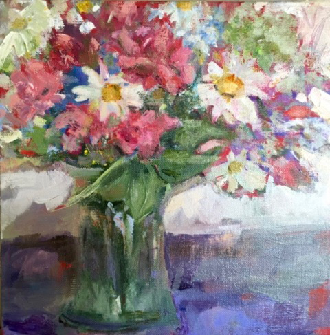 Summer Bouquet 10x10