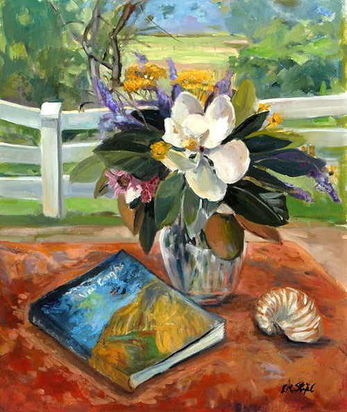 Still Life With Magnolia 40x30