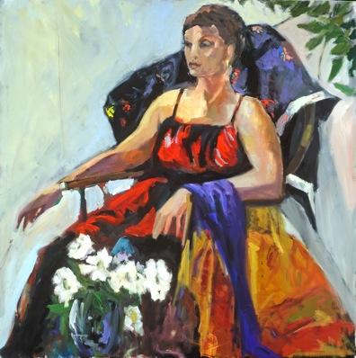 Gypsy Rose 30x30