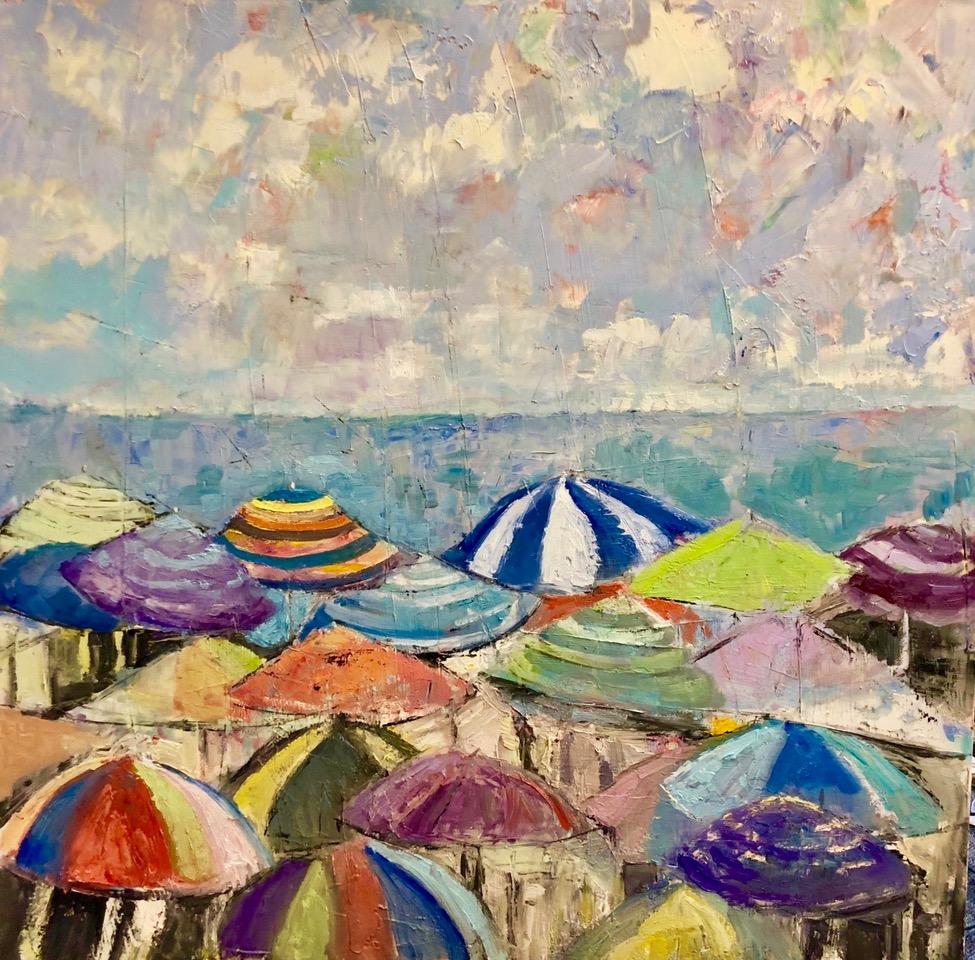 umbrela parade 36x36