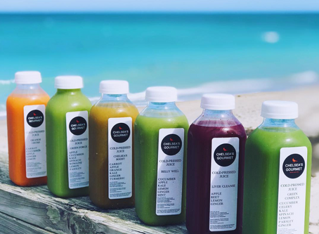 Chelsea's Gourmet, Leading the Health Trend with Cold-Pressed Juice