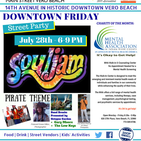 Downtown Friday 6-9PM with Soul Jam