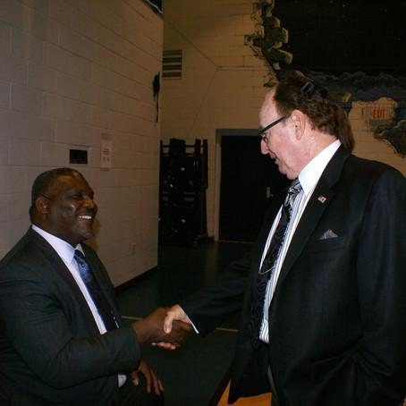 Colonel Greg Gadson visits MHAIRC