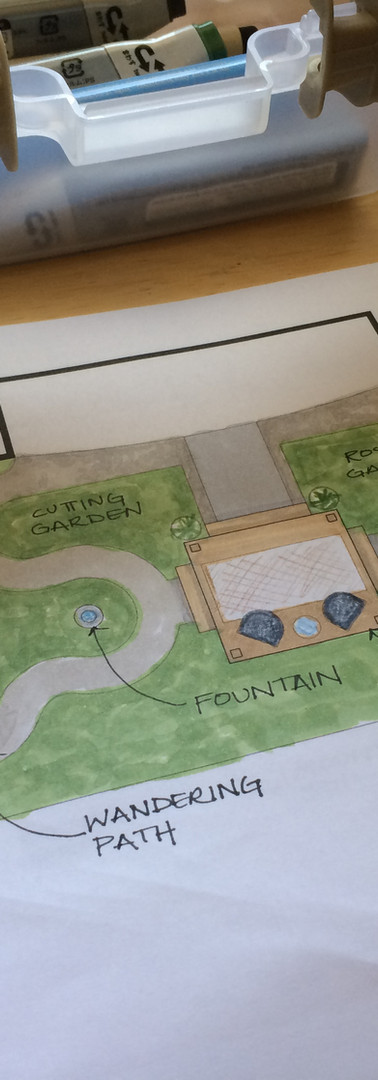 Lascape Plan Backyard Remodel