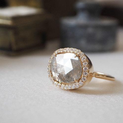 Sliced Diamond Ring 2.46ct