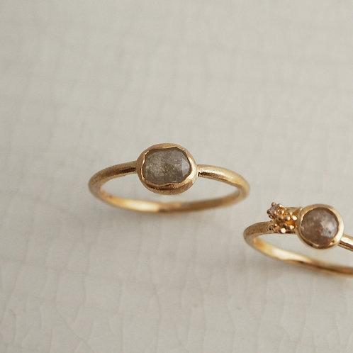 Natural Rosecut Diamond Ring