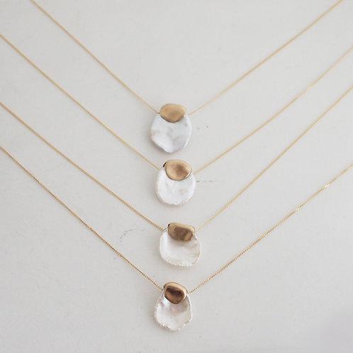 Garden Poppy Pearl Necklace