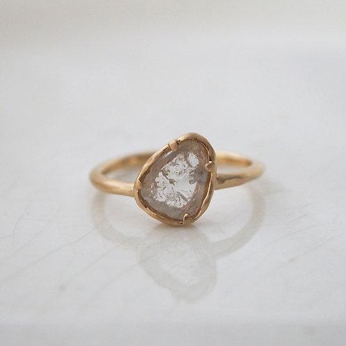 Sliced Diamond Ring