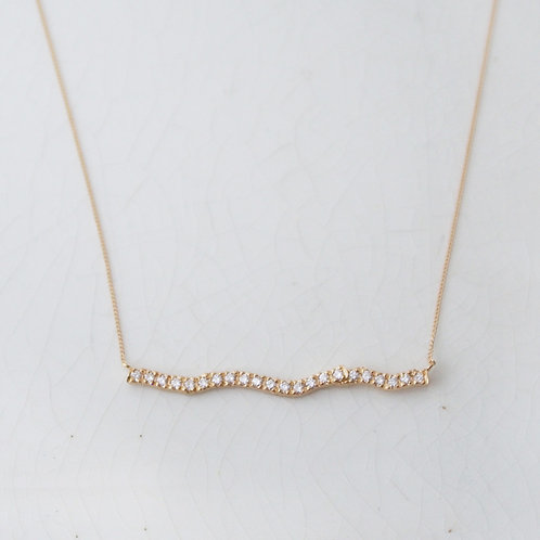 Diamond Branch Necklace -L-