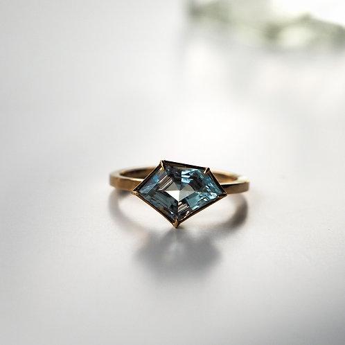 Aquamarine Ring -S-
