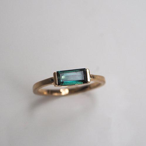 Green Tourmaline Ring #12
