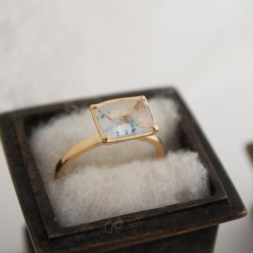 Paraiba Quartz Ring -S-