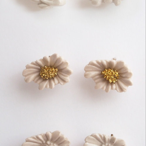 Daisy Brass Earrings