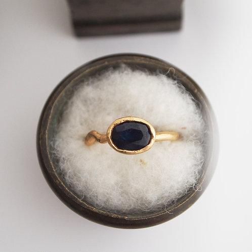 Midnight Sapphire Ring