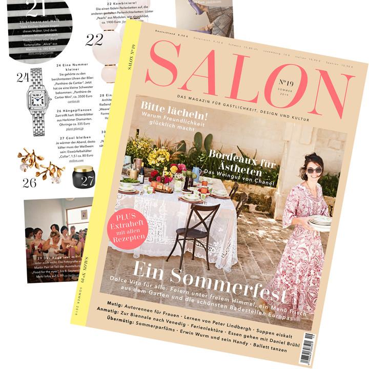 SALON 2019 summer 掲載されました