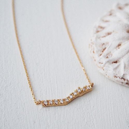 Diamond Branch Necklace -M-