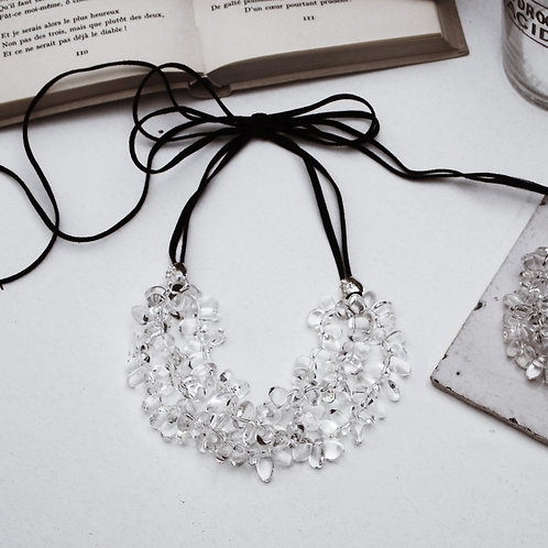 Quartz Drops Necklace