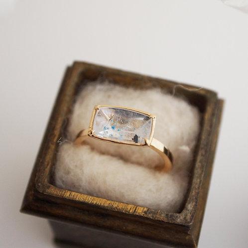 Paraiba Quartz Ring -L-